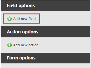 Add form field