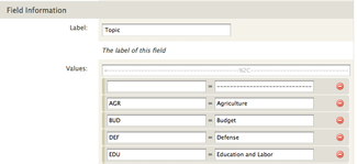 Form field selector 1.8